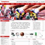 编号:6026 尚建体育文化服饰有限公司日喀则地区吉隆县模仿网站制作|湖北网页制作|网页设计培训班|企业建站专家|